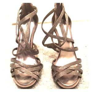 BCBG Maxazria Strappy Sandal Heels